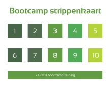 Strippenkaart 10 lessen - Demi Set your Goals