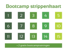 strippenkaart 15 lessen - Demi Set your Goals