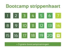 strippenkaart 20 lessen - Demi Set your Goals